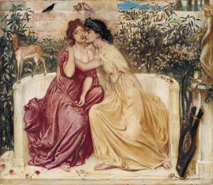 551px-Sappho_and_Erinna_in_a_Garden_at_Mytilene