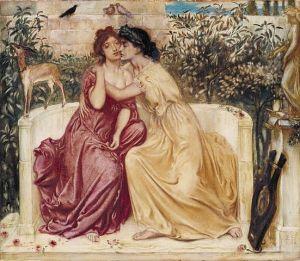 551px-Sappho_and_Erinna_in_a_Garden_at_Mytilene